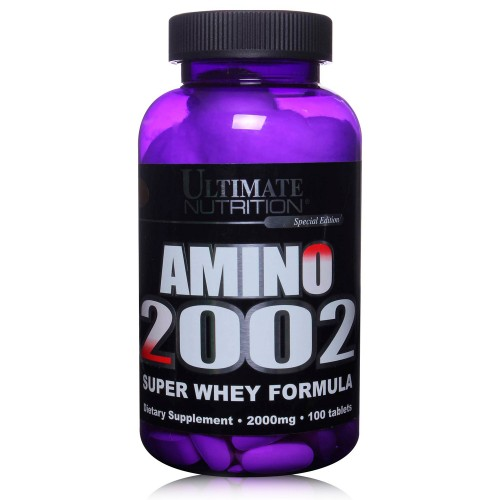 Аминокислоты AMINO 2002 100 таблеток от Ultimate Nutrition