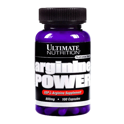 Arginine power 100 капсул от Ultimate Nutrition