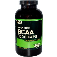 Аминокислоты BCAA 1000 от Optimum Nutrition 400 капсул