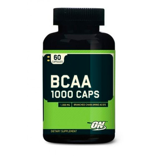 Аминокислоты BCAA 1000 от Optimum Nutrition 60 капсул