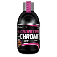 BioTech L-CARNITINE+CHROME 500 мл