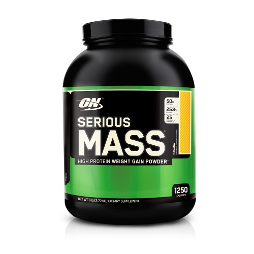 Гейнер Serious Mass 2,722 кг от Optimum Nutrition