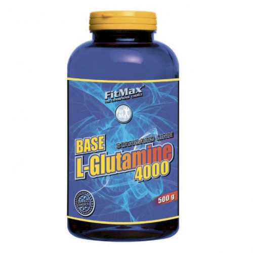 Глютамин FitMax Base L-Glutamine 4000 500 грамм