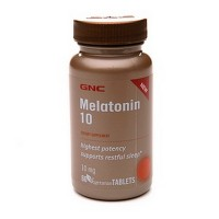 GNC Melatonin 10 60 капсул