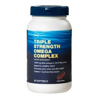 GNC Triple Strength Omega Complex 90 таблеток