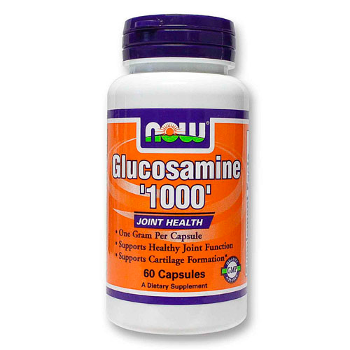 NOW Glucosamine 1000 60 капсул