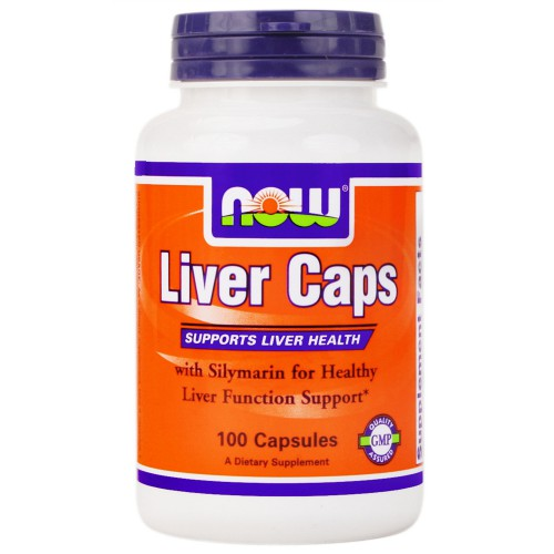 NOW Liver Caps 100 капсул