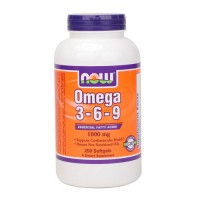 NOW Omega 3-6-9  250 капсул