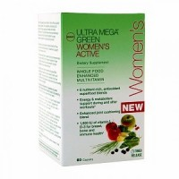 Витамины GNC Ultra Mega Green Womens 60 капсул