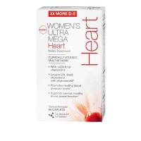Витамины GNC Women's Ultra Mega Heart 90 капсул