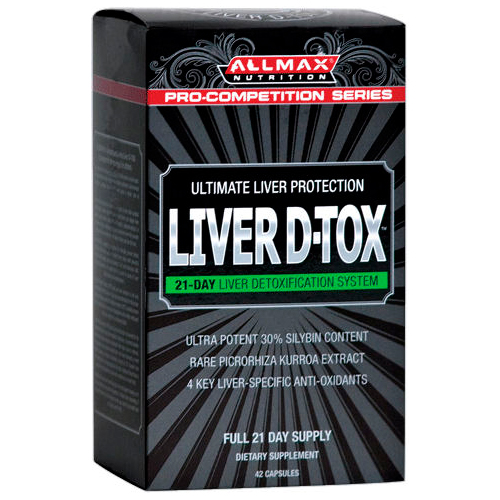 AllMax Nutrition Liver D-Tox 42 капсулы