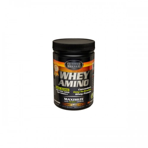 Аминокислоты  California Fitness Whey Amino 180 таблеток