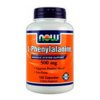 Аминокислоты  NOW L-Phenylalanine 120 капсул
