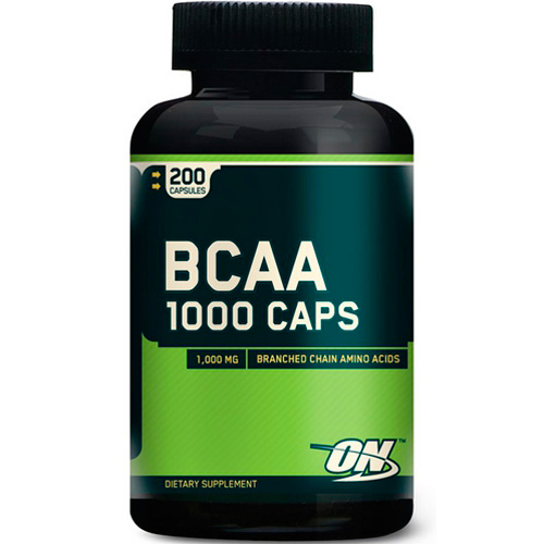 Аминокислоты BCAA 1000 от Optimum Nutrition 200 капсул