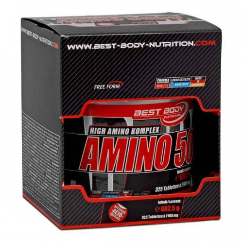 Аминокислоты Hardcore Amino 325 таблеток от Best-Body Nutrition