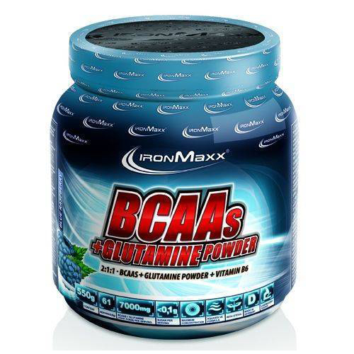 Аминокислоты Ironmaxx BCAAS + GLUTAMINE POWDER 550 грамм