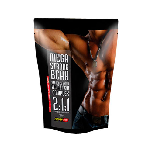 Аминокислоты Power Pro Mega Strong BCAA 300 грамм