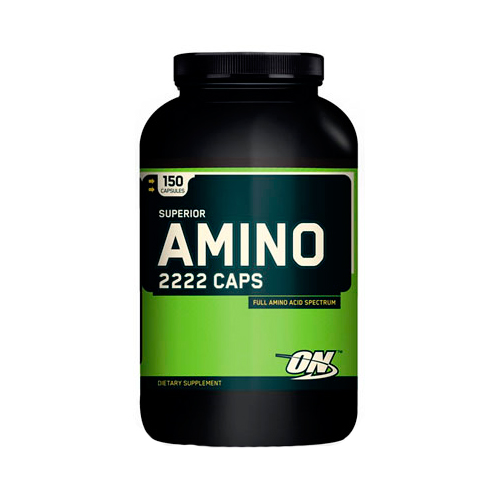 Аминокислоты Superior Amino 2222 Caps от Optimum Nutrition 150 капсул