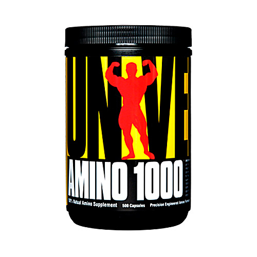 Аминокислоты Universal Nutrion AMINO 1000 500 капсул