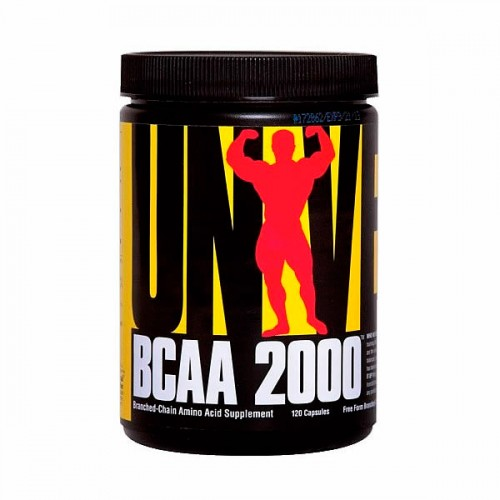 Аминокислоты Universal Nutrion BCAA 2000 120 капсул