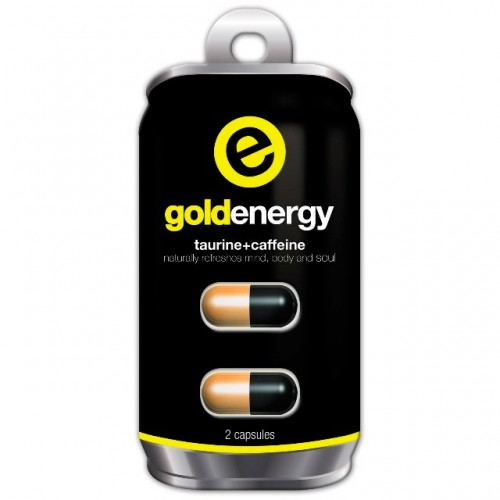 Энергетик BioTech Gold Energy 2 капсулы