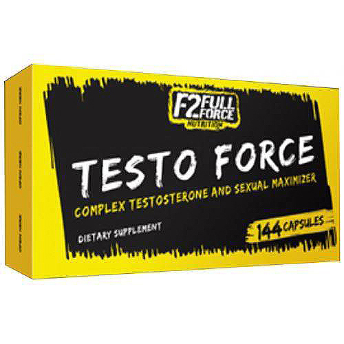 F2 Full Force Nutrition Testo Force 144 капсулы