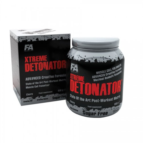 Креатин Fitness Authority Xtreme Detonator 834 грамм