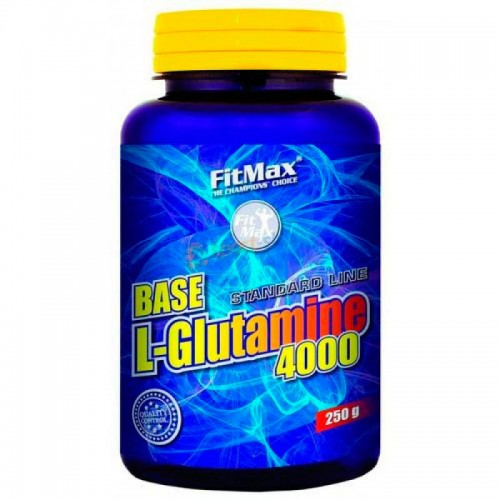 Глютамин FitMax Base L-Glutamine 4000 250 грамм