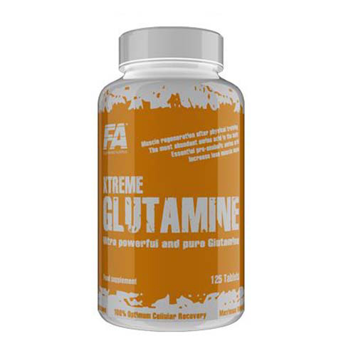 Глютамин Fitness Authority Xtreme Glutamine 250 таблеток