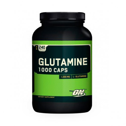 Глютамин Glutamine 1000 240 капсул от Optimum Nutrition