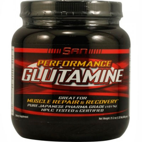 Глютамин SAN Performance Glutamine 600 грамм