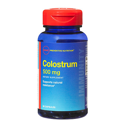 GNC Colostrum 500 mg 60 капсул