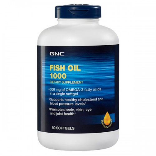 GNC Fish Oil 1000 90 капсул