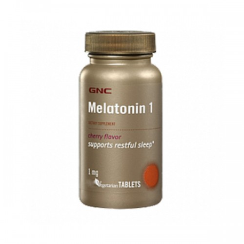 Витамины GNC MELATONIN 1 SUBLINGUA 60 капсул