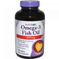 Natrol Omega-3 Fish Oil 90 капсул