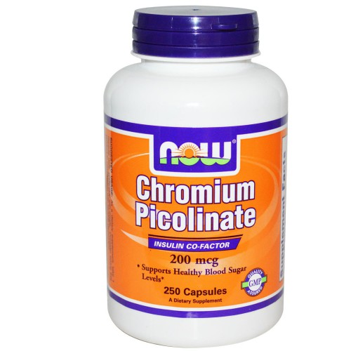 NOW Chromium Picolinate 100 капсул