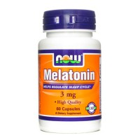 NOW Melatonin 5 мг 60 капсул