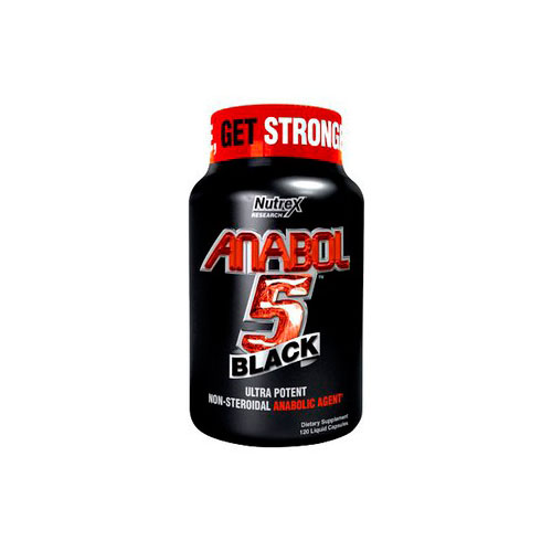 Nutrex Anabol 5 Black 120 капсул