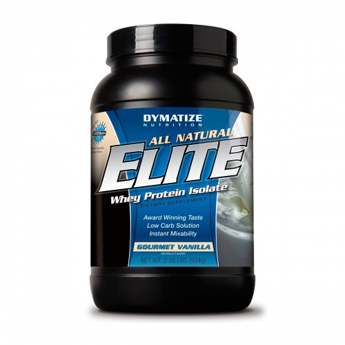 Сывороточный протеин Dymatize All Natural Elite Whey Protein 934 грамма