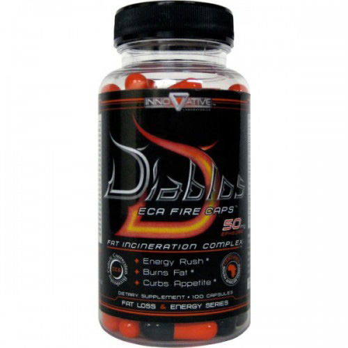 Сжигатель жира Innovative Diet Labs Diablos  100 капсул