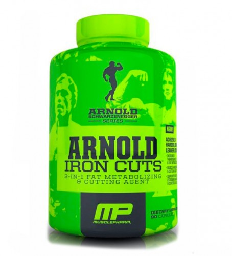 Сжигатель жира MusclePharm Arnold Series Iron Cuts  90 капсул