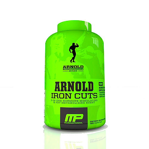 Сжигатель жира MusclePharm Arnold Series Iron Cuts  120 капсул