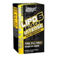 Сжигатель жира Nutrex Lipo 6 black intense Ultra Concentrate 60 капсул