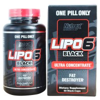 Сжигатель жира Nutrex Lipo 6 black Ultra Concentrate 120 капсул