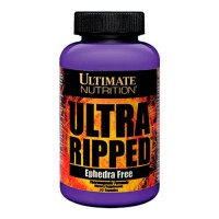 Сжигатель жира Ultimate Nutrition Ultra Ripped Ephedra Free 90 капсул
