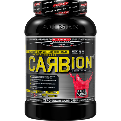 Углеводный комплекс CarbON Fruit Punch 1,08 кг от AllMax Nutrition
