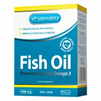 VP Lab Fish Oil Premium Quality Omega 3 60 капсул