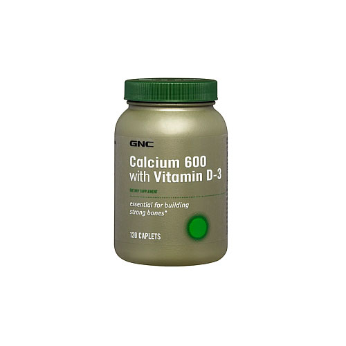 Витамины GNC Calcium 600 with Vitamin D-3 120 таблеток