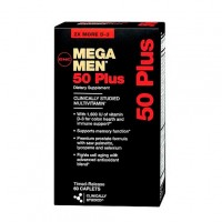Витамины GNC Mega Men 50 Plus 60 капсул