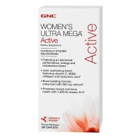 Витамины GNC Womens Ultra Mega Active 180 капсул
